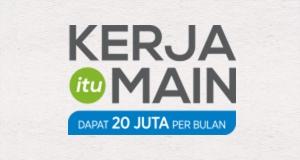 Kerja Itu Main Logo