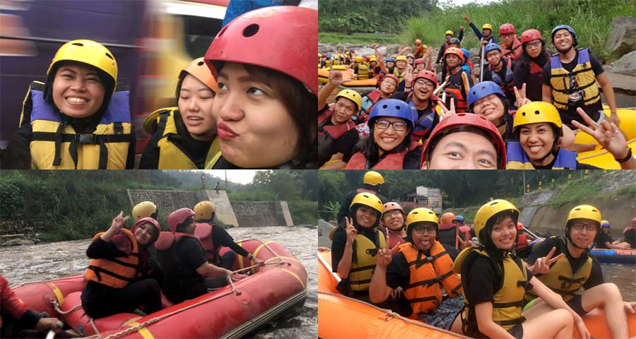 Bounche Outing Bromo Rafting