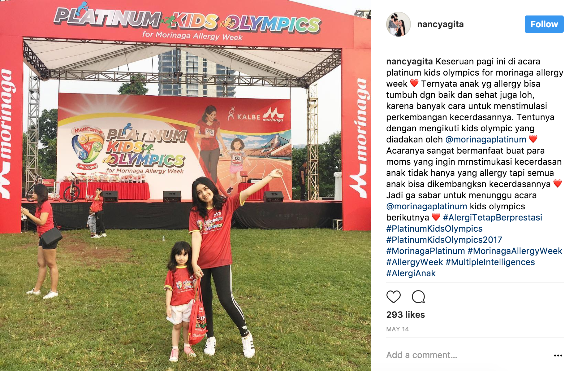 Influencer Marketing - Morinaga Platinum - nancyagita